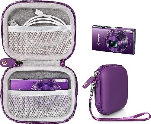 2021 WGear Digital Camera Case for outlet online sale Canon PowerShot ELPH180, ELPH 190, ELPH 350 HS, ELPH 310 high quality HS, ELPH 360; Sony W800/S, DSCW830; AbergBest 21 Mega Pixels; Kodak FZ43, FZ53-BL; Nikon COOLPIX L32, Lecran outlet sale