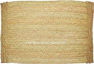 Estera rectangular de esparto natural, también a medida (