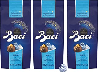 Baci Perugina Milk Chocolate Truffle Bag, 5 oz (Pack of 3)