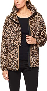 French Connection Women's Animal Print Anorak Jacket