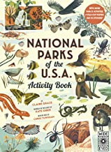 National Parks of the USA: Activity Book: With More Than 15 Activities, A Fold-out Poster, and 50 Stickers!