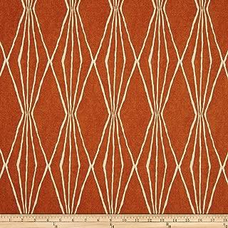 Robert Allen Home Handcut Shapes Orange Crush Fabric by The Yard