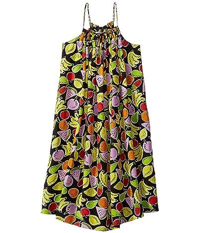 Stella McCartney Kids Large Fruit Dress Early (Toddler/Little Kids/Big Kids) (Black Multi) Girl
