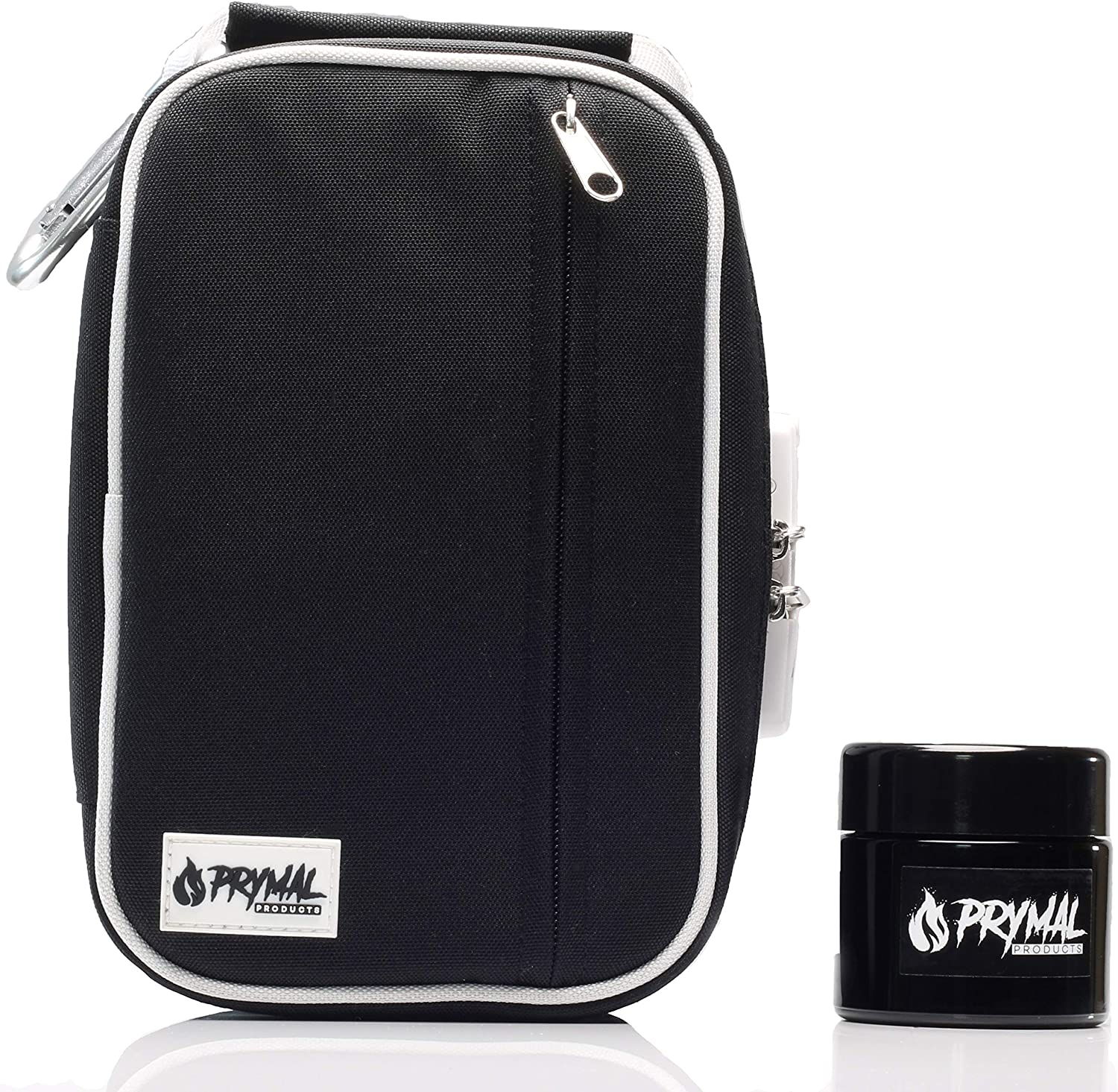 Prymal Products Smell Proof Large-scale sale Bag and S UV 100ml Jar Glass Free shipping Combo