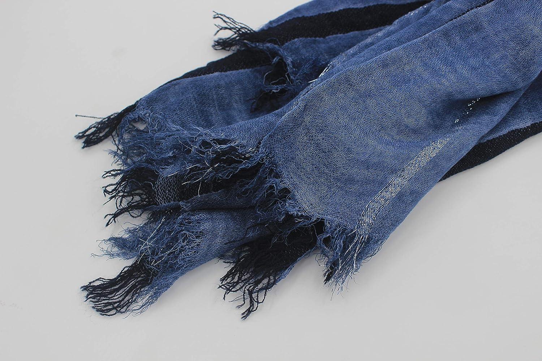 MEISHINE /Écharpe en coton m/élang/é pour homme 190 x 90 cm