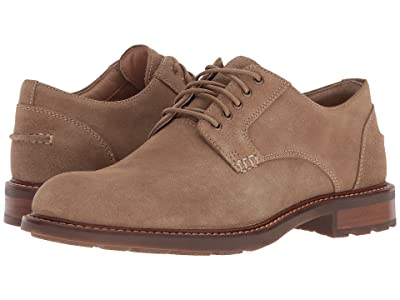 Sperry Annapolis Plain Toe (Tan Suede) Men