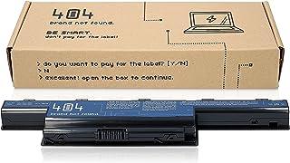 Wessper Batería del Ordenador portátil para Acer TravelMate 5335G (10.8V, 4400 mAh, Negro, 6 Celdas)