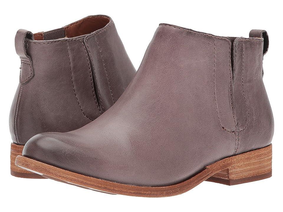 Kork-Ease Velma (Grey Full Grain Leather) Women