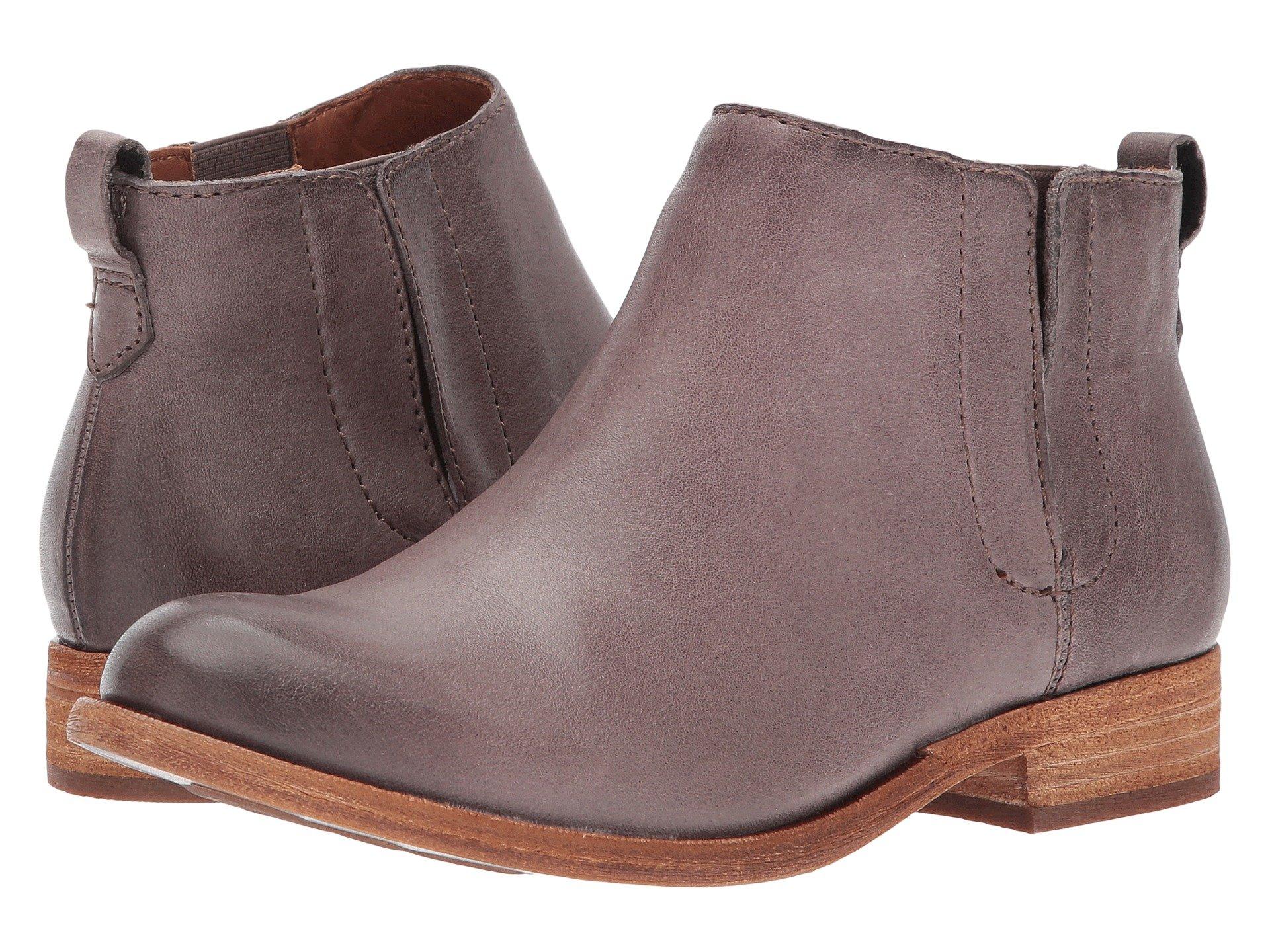 KORK-EASE Velma, Grey Full Grain Leather