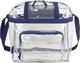 Eastsport Clear NFL Stadium Approved Tote, Navy Blue