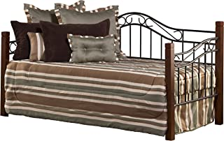 Hillsdale Furniture Daybed With Trundle, Twin, Cherry/Black