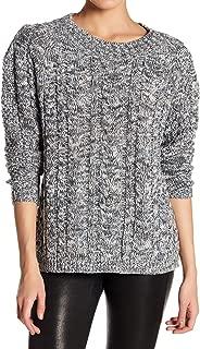 John + Jenn Women's Sweater Small Marled Knit Knitted