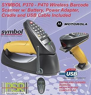 Symbol phaser P370 17 keys wireless industrial barcode scanner kit USB
