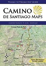 Camino de Santiago Maps, Camino Francés: St. Jean - Santiago (Village to Village Map Guide)