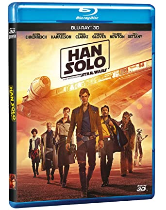HAN SOLO: Una Historia de Star Wars (SOLO: A Star Wars Story) BLU-RAY 3D (English & Spanish Audio and Subtitles) IMPORT