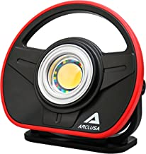 Arclusa COB 10W LED Work Light Portable with Adjustable Magnetic Stand Cordless 1000 Lumen Color Match, Rechargeable Waterproof Flood Light for Automotive, Car, Garage