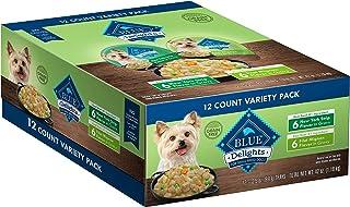 بوفالو آبی لذت بردن از غذاهای کوچک سگ مرطوب و نژاد بزرگ بزرگسالان