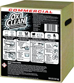 OxiClean 3320084012 Stain Remover, Regular Scent, 30 lb Box