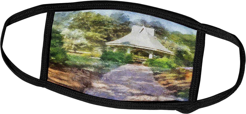 3dRose Boehm Digital Paint Landscape Garden Cove Gazebo Easy-to-use Face - Manufacturer OFFicial shop