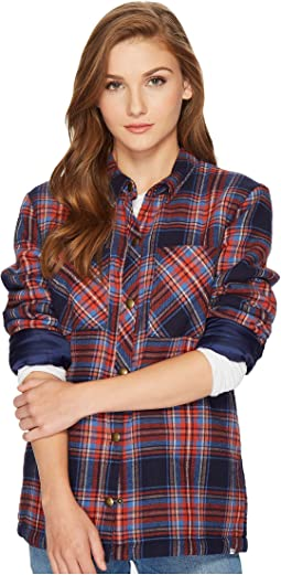Volcom - Plaid About You Long Sleeve