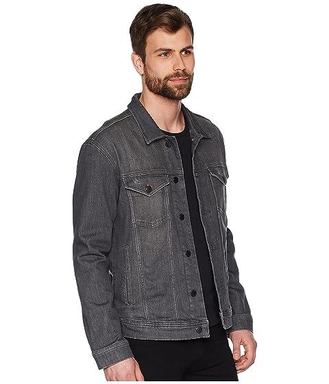 estiramiento Jean chaqueta Illinois Tommy camionero Jeans clásico gris qPwI0tSU
