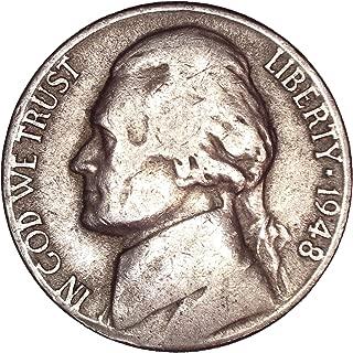 1948 D Jefferson Nickel 5C Very Fine