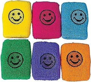 Fun Express Smile FACE Wrist Bands (1 Dozen) - Bulk