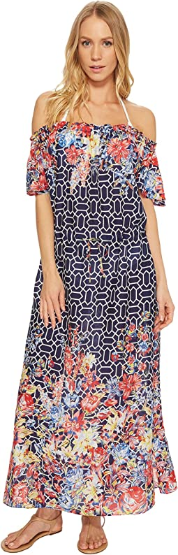 Adelaide Floral Midi Dress