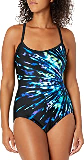 Maxine Of Hollywood Women's Over The Shoulder One Piece Swimsuit