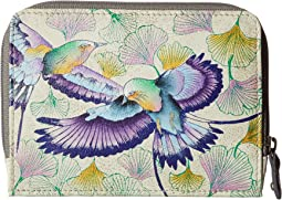 Anuschka Handbags - 1124 Zip Around Credit Card Case