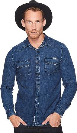 Lucky Brand - Classic Fit Western Denim Shirt