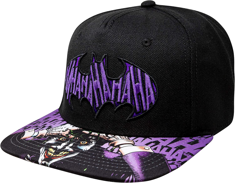 Washington Mall DC SB3WDSBTM Batman The Joker Killing Joke trust with Cap Snapback Cha