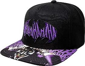 DC Comics The Joker Hahaha Batman Logo Sublimated Bill Snapback