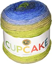 Lion Brand Yarn 935-214 Cupcake Yarn, Moody Blue