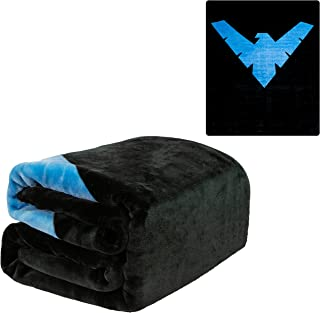 JPI Plush Throw Blanket - Batman Nightwing - Queen Bed 79