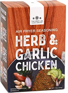 The Spice Lab - Herb & Garlic Air Fryer Panko Seasoning Kit - 7.9oz. - Flavored Panko Breadcrumbs and Rice ...