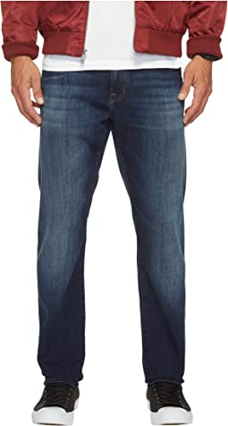 Mavi Jeans - Jake Regular Rise Slim in Dark Brushed Williamsburg