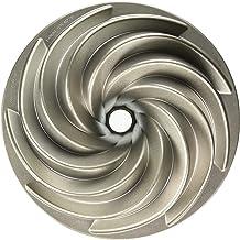 Nordic Ware Heritage Bundt Cake Pan (10 Cup), Gray, 80637