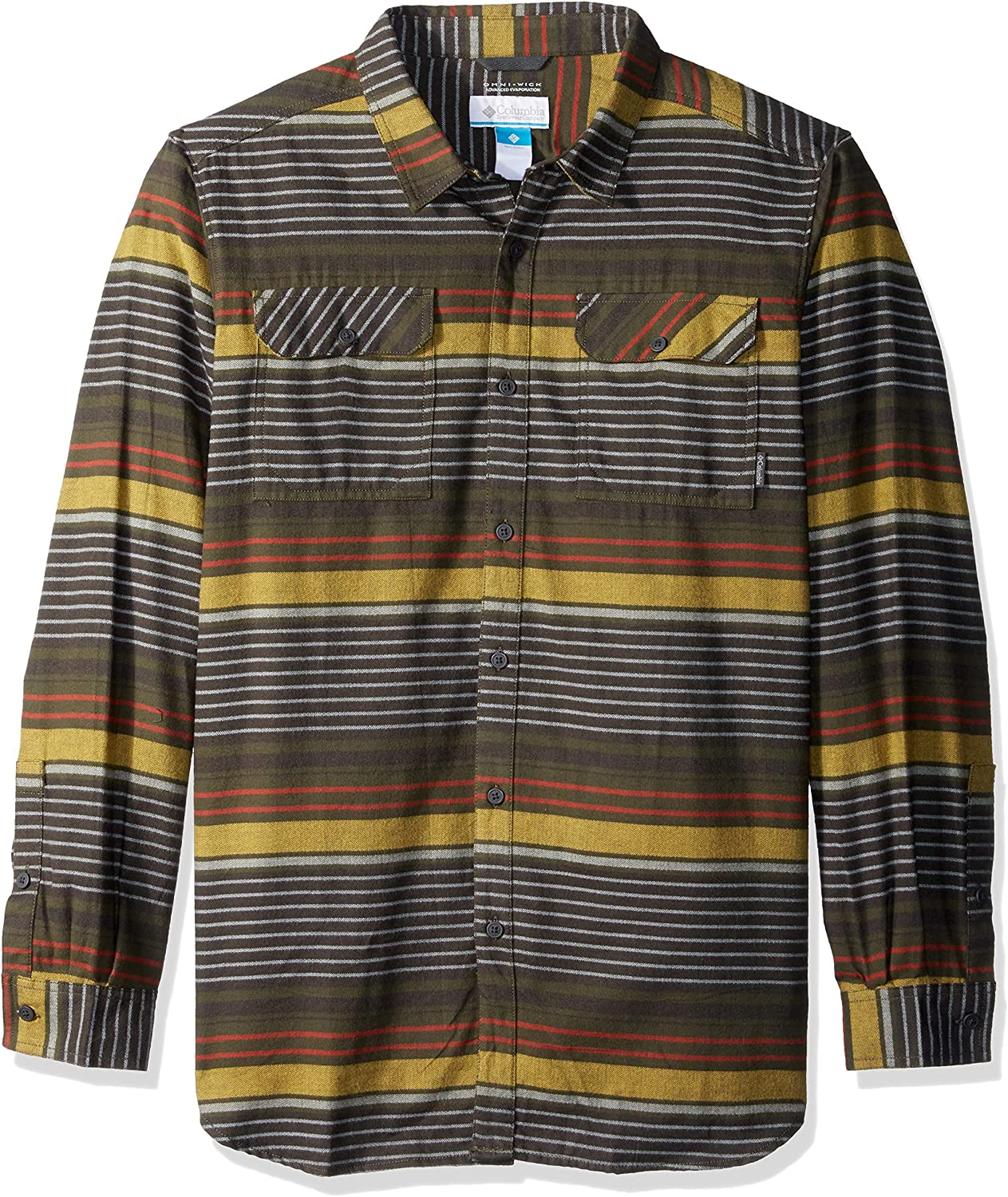 Columbia Men's Big and Tall Flare Gun specialty shop Lon Flannel Mail order Iii