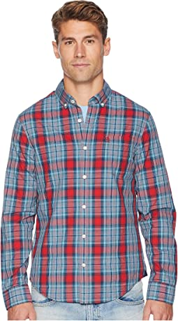 Long Sleeve P55 Jasper Plaid - Stretch Shirt