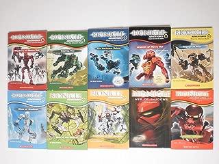 Bionicle Adventures Set Books 1 Thru 10 By Farshtey