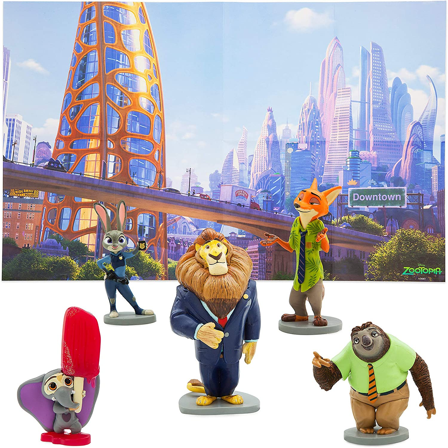 Disney Zootopia Figure Set Play Max 46% OFF Al sold out.