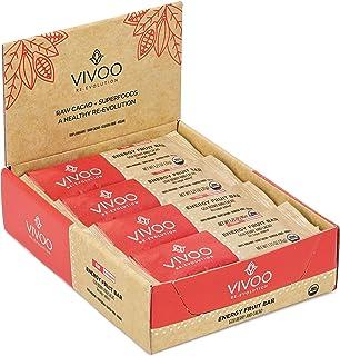 VIVOO Organic Raw Energy Goji & Cacao Powder| No Added Sugar | Dairy-Free, Soy-Free, Gluten-Free | Non-GMO, Vegan, Kosher ...