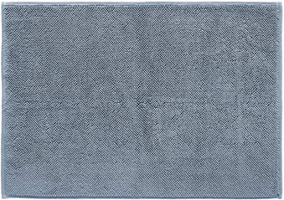 Amrapur Overseas 100-Percent Turkish Cotton Bath Rug, 20 x 28, Blue