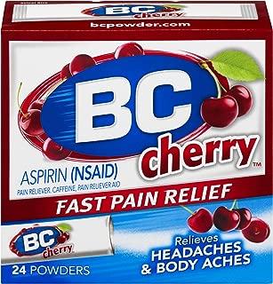 BC Powder   Fast Pain Relief   Aspirin (NSAID) & Caffeine   Cherry   24 Count