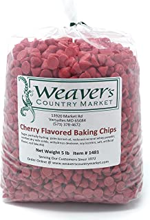 Weaver's Country Market Cherry Flavored Baking Chips (5 Lbs.)