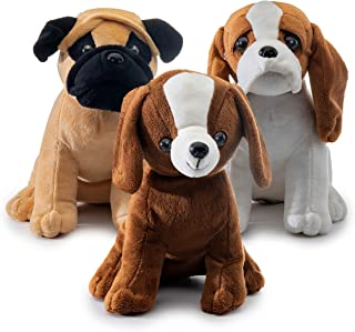 realistic looking stuffed dogs
