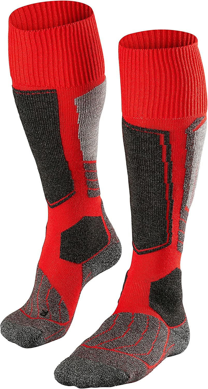 Tucson Mall Falke Mens Skiing Super sale 1 Knee Socks - Red High Lipstick