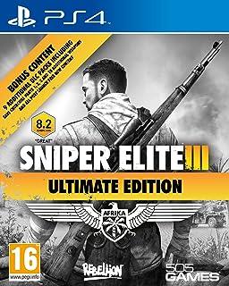 Sniper Elite Iii Ultimate Edition & 9 Dlc Packs Ps4- Playstation 4