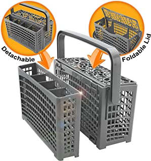 Universal Dishwasher Silverware Replacement Basket – Utensil/Cutlery Basket –..